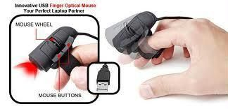 Lord Of The Ring Finger Optical 3d Computer Laptop Desktop Mouse