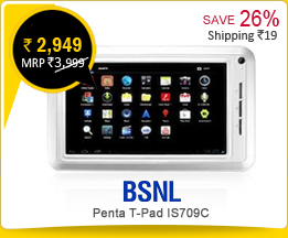 BSNL Penta T-Pad IS709C Rs.2,949