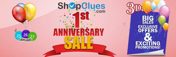 02a7840b520 ShopClues.com Brings you Anniversary Sale