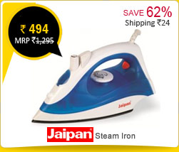 Jaipan Steam Iron Rs. 494