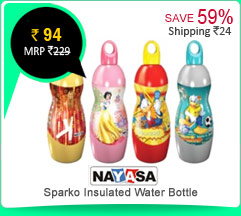 Nayasa Sparko Insulated Water Bottle Rs. 94