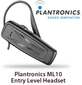 Plantronics ML10 Entry Level Headset