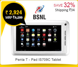 BSNL Penta T - Pad IS709C Tablet Rs. 2,924
