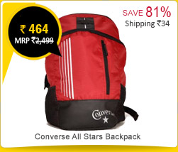 Converse All Stars Backpack Rs. 464