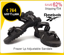 Reebok Frazer Lp Adjustable Sandals Rs. 764