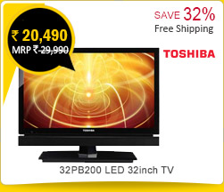 Toshiba 32PB200 LED 32inch TV Rs. 20,490