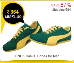 DNCK Casual Shoes for Men Rs. 364
