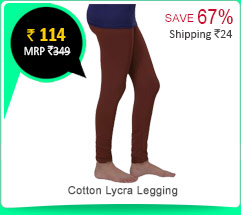 Cotton Lycra Legging Rs. 114