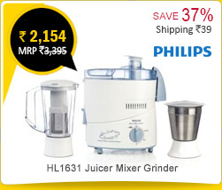 Philips HL1631 Juicer Mixer Grinder Rs. 2,154