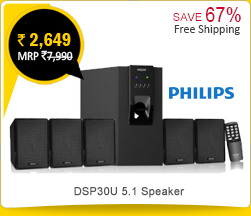 Philips DSP30U 5.1 Speaker Rs. 2,649