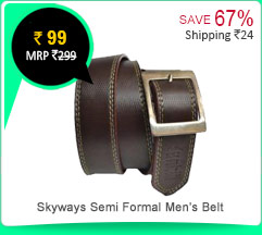 Skyways Semi Formal Men's Belt Rs. 99