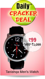 Tanishqa Men's Watch B1227 Rs. 99