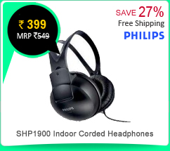 Philips SHP1900 Indoor Corded Headphones