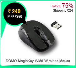 DOMO MagicKey WM6 Wireless Mouse