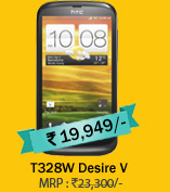 HTC T328W Desire V (Black)