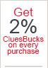 Get 2% CluesBucks free