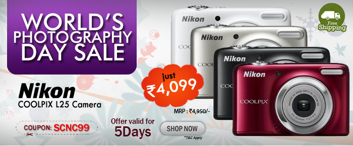 Nikon COOLPIX L25 Camera at rs 4,099/-
