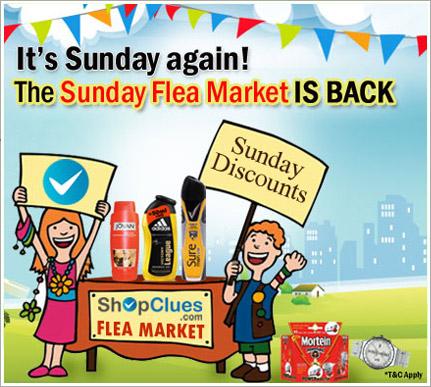 Sunday Flea Market open now