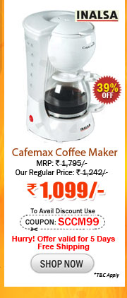 Inalsa Coffee Maker How To Use : Sunday Surprise : One Day Sale on Orkia Mp3 Player, Unisex ...