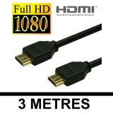 HDMI TO HDMI CABLE GOLD PLATED LCD PLASMA 3M 3 METERS