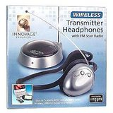 Innovage Wireless Transmitter Headphones With Fm