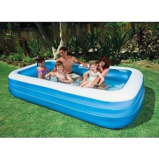 Intex swim center 120 x72 x22 inflatable family pool 10 for Intex pool 120 hoch