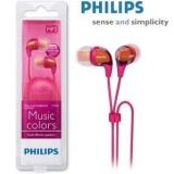 Philips SHE3683 In Ear Earphones for MP3 MP4 ipod Mobile etc Pink