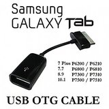 USB Female OTG Cable Adapter For Samsung Galaxy Tab 10.1/8.9/P7500/P7510
