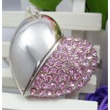 Microware  Heart Shape  8GB PenDrive