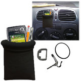 Callmate Car Mobile GPS Phone Ipod Pen Holder Storage Pouch Bag Black