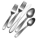 SOLO Jewel Cutlery Stainless Steel 48pc Set