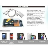 Micro USB To HDMI MHL Adapter For Samsung Galaxy S II I9100,htc Evo 3d,flyer,g14