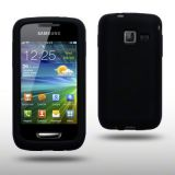 SILICONE BACK COVER CASE FOR SAMSUNG WAVE Y S5380